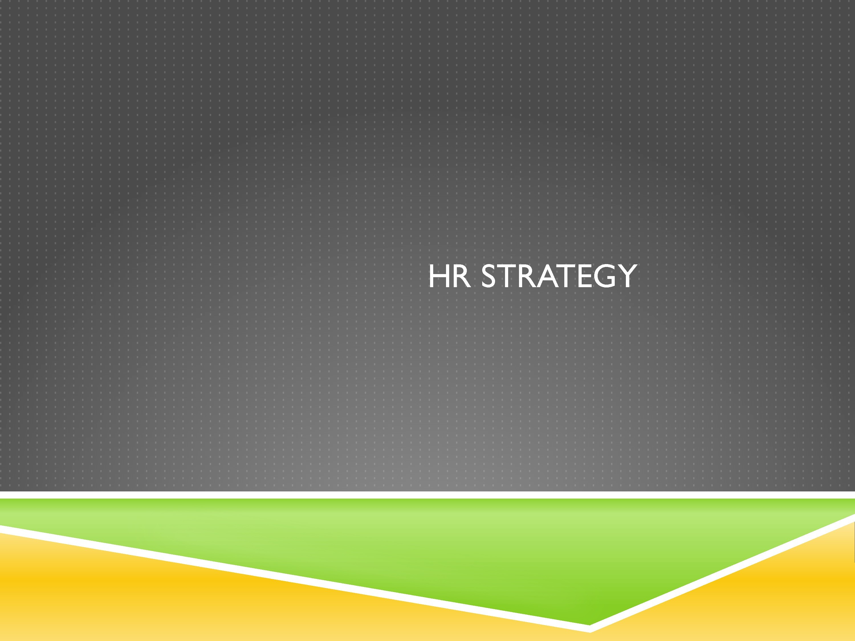 strategic hr 2 making hr a strategic asset brian becker, mark huselid and dave ulrich the story is a familiar one organizations increasingly rely on intangibles as the.