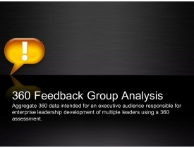 360 Feedback Group Analysis