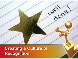 Creating a Culture of Recognition