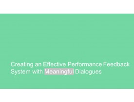 Employee Led Performance Feedback System