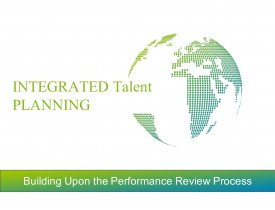 Integrated Talent Planning