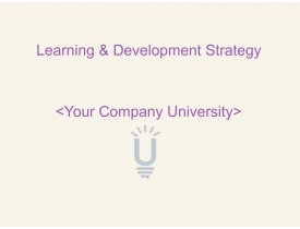 Learning & Development Strategy