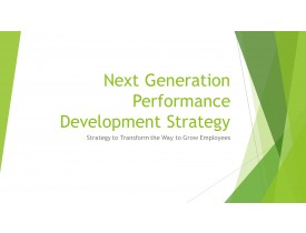 Next Generation Performance Development