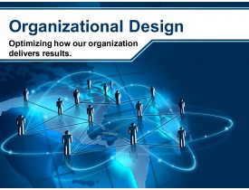 Organizational Design to Optimize Results