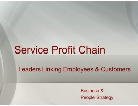 Service Profit Chain - Linking Employees and Customers