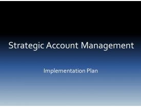 Strategic Account Management