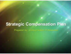 Strategic Compensation Plan