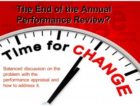 The End of the Annual Performance Review?