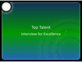 Top Talent Interview for Excellence