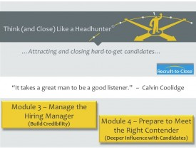 Recruiter: Hiring Manager Credibility & Candidate Influence
