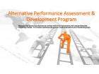 Alternative Performance Assessment & Development Program