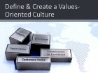 Define & Implement Organizational Values