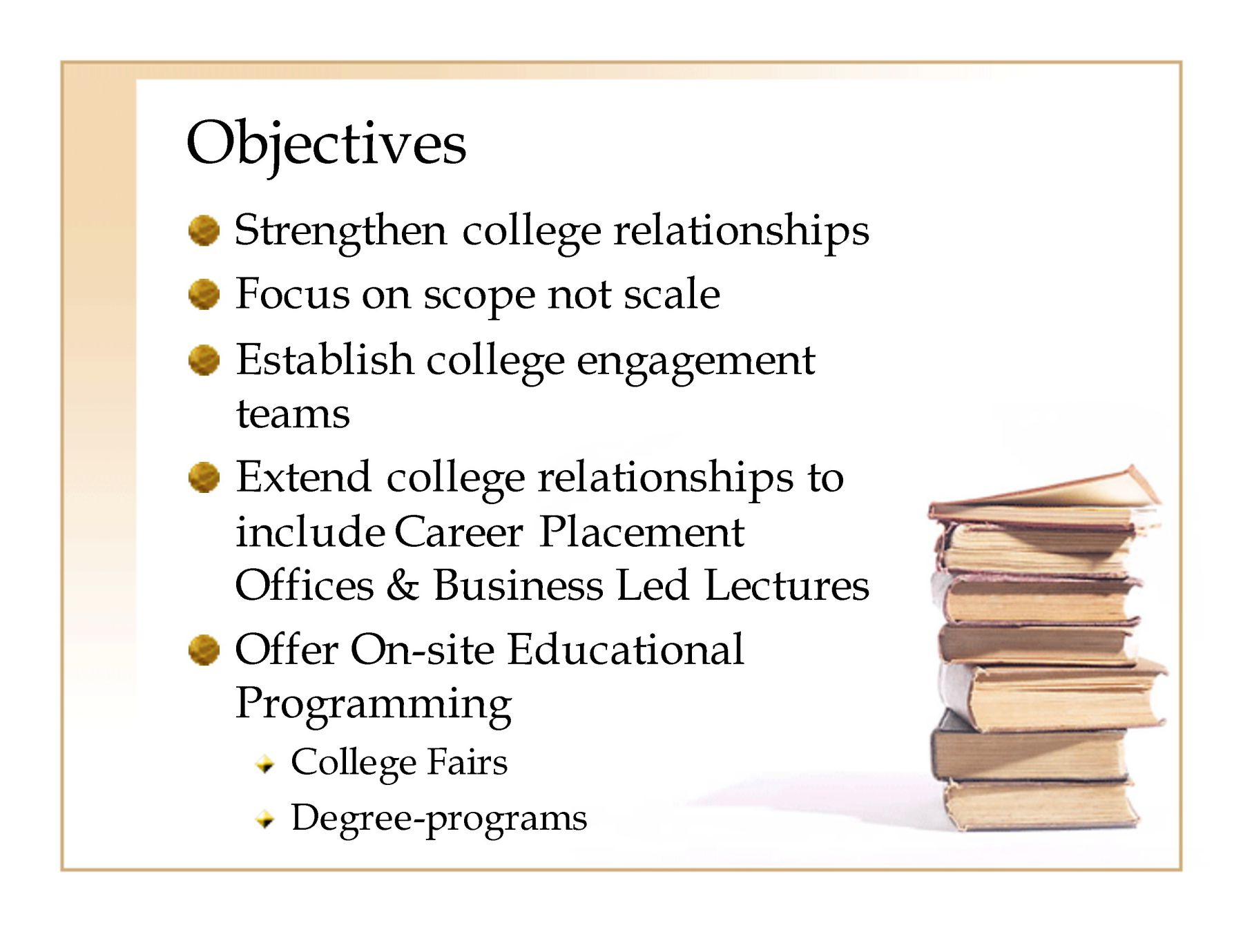 University it strategy