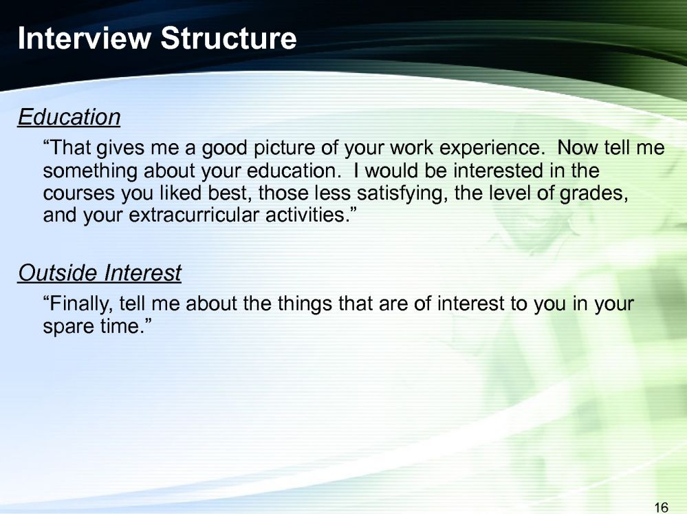 cultural interview Modules communication skills module  cross-cultural interviewing  initiate  an interview with the patient by greeting with respect, attending to comfort and to .